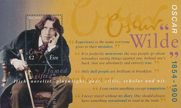 Ireland 2000 100th Anniversary of the Death of Oscar Wilde w