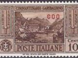 Italy (Aegean Islands)-Coo 1932 50th Anniversary of the Death of Giuseppe Garibaldi
