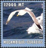 Mozambique 2002 The World of the Sea - Sea Birds 1 c