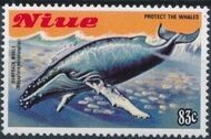 Niue 1983 Protect the Whales g