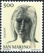 "San Marino 1976 ""Civic Virtues"" i"