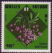 Wallis and Futuna 1978 Flowers a