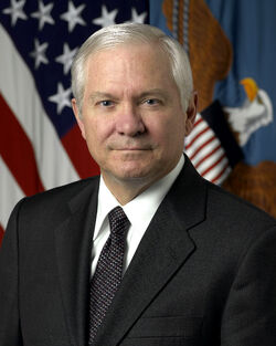 Robert Gates, official DoD photo portrait, 2006