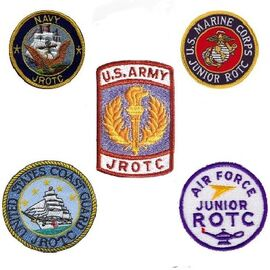 All Junior ROTC branch patches