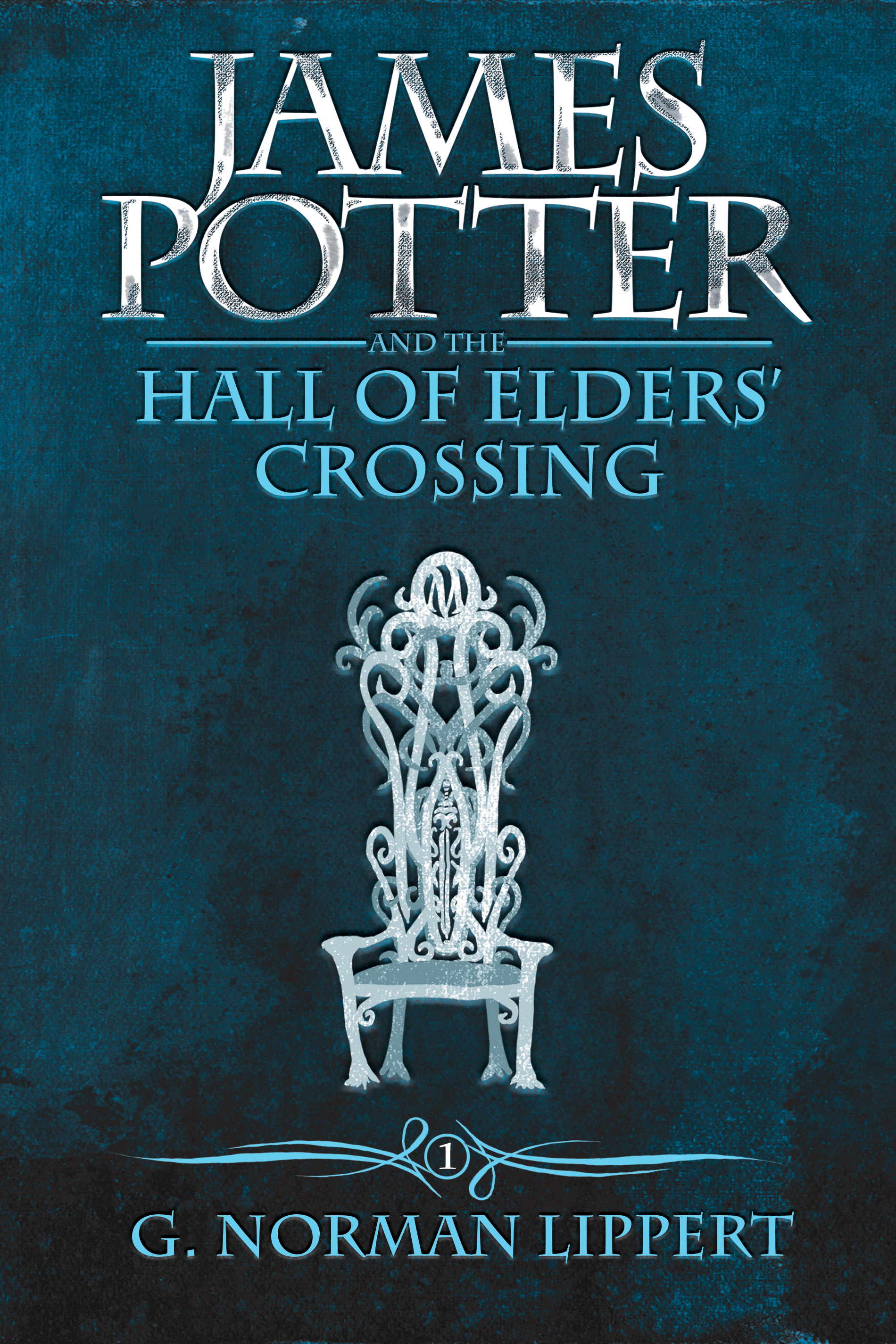 Book Cover Series Books : James potter and the hall of elders crossing