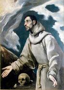 El Greco Ecstasy of St Francis