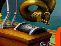 Gramophone close-up