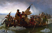 300px-Washington Crossing the Delaware by Emanuel Leutze, MMA-NYC, 1851