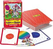 Jumpstart color and shape card game
