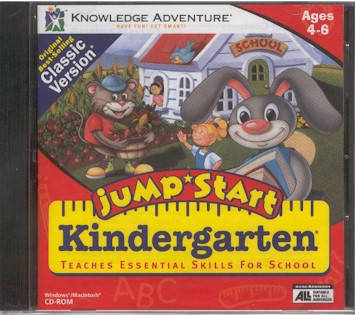jumpstart kindergarten 1994 download