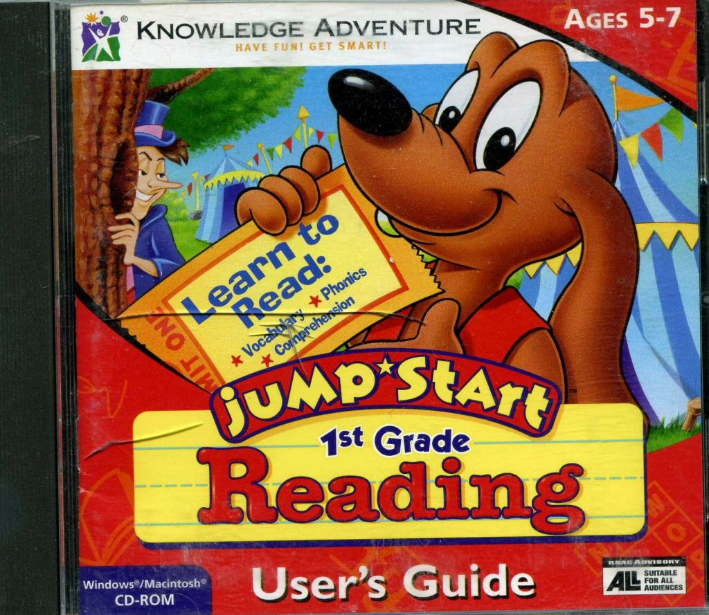 JumpStart Reading for First Graders | JumpStart Wiki