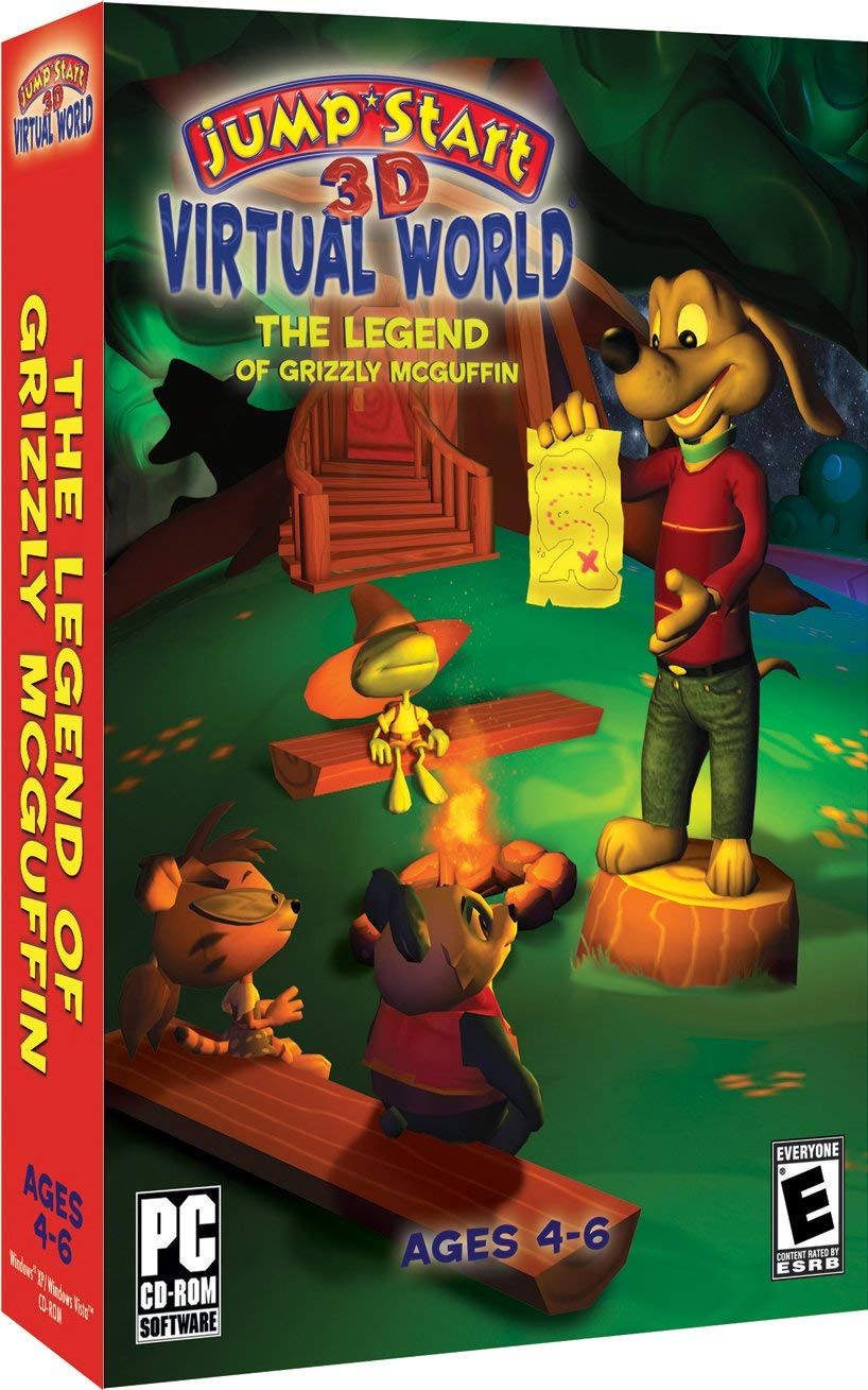 4cb664463d6d JumpStart 3D Virtual World  The Legend of Grizzly McGuffin ...