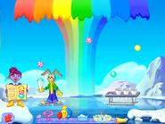 Jskmath rainbow snowcones