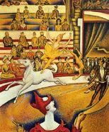 Seurat the Circus
