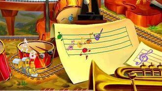 JumpStart Preschool (1998 1999) - Musical Notes Land