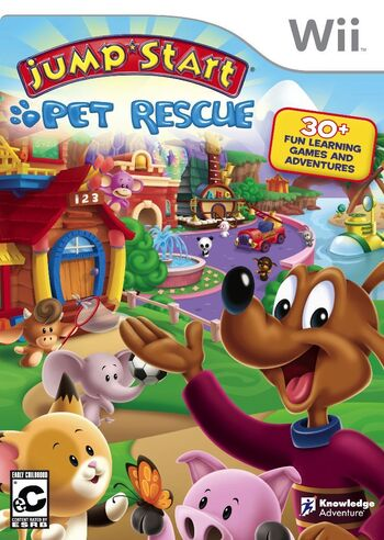 Image of JumpStart Pet Rescue.