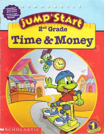 Image of JumpStart 2nd Grade Time & Money.