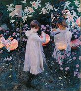 300px-John Singer Sargent - Carnation, Lily, Lily, Rose - Google Art Project