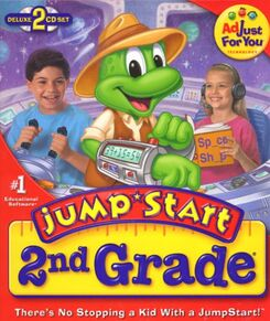 JumpStart 2nd grade deluxe