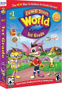 bc41decd6236 JumpStart 3D Virtual World  Trouble in Town. Current  Original