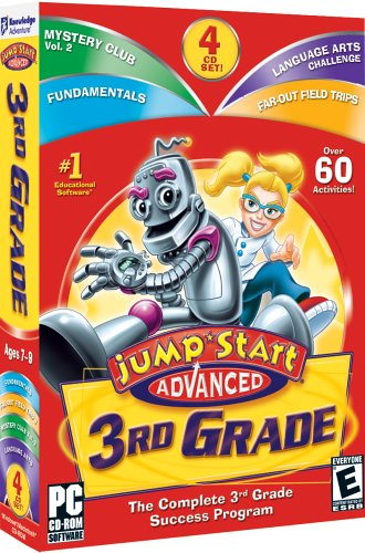 Image of JumpStart Advanced 3rd Grade.
