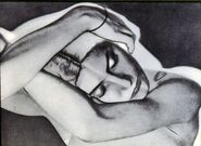 Man Ray Sleeping Woman