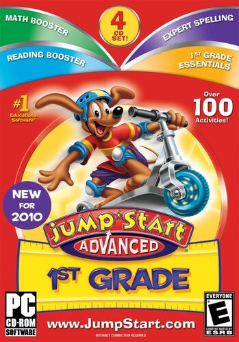 Image of JumpStart Advanced 1st Grade.