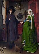 300px-Van Eyck - Arnolfini Portrait