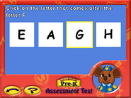 Prek assessment test