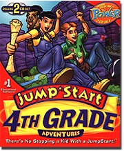 Image of JumpStart Adventures 4th Grade: Sapphire Falls.