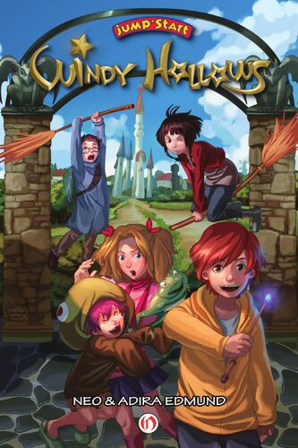 Image of JumpStart Windy Hollows (graphic novel).