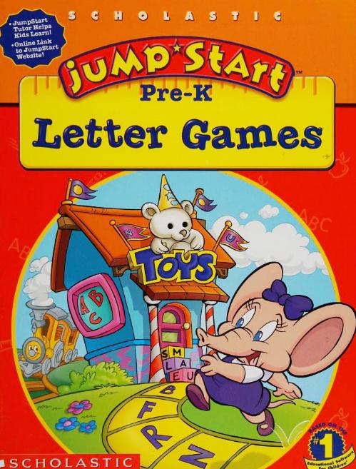 Image of JumpStart Pre-K Letter Games.