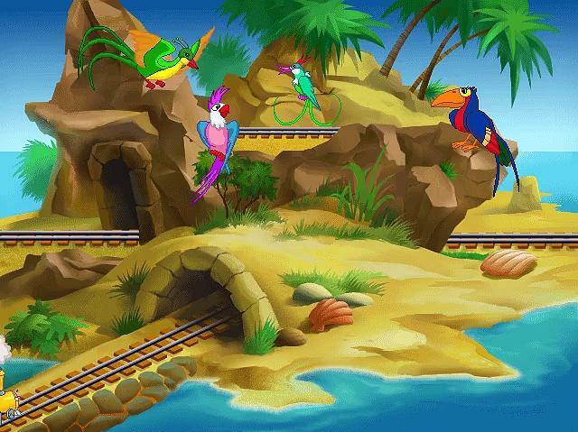 JumpStart Preschool (1999) - Letter Island