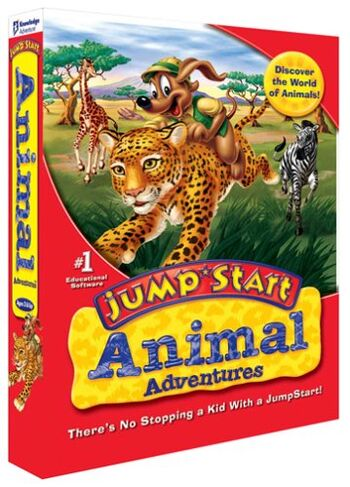Image of JumpStart Animal Adventures.