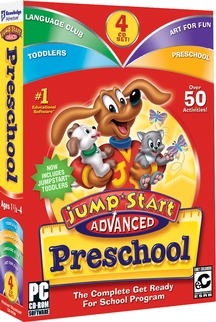 Image of JumpStart Advanced Preschool.