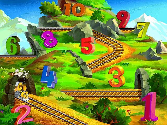 JumpStart Preschool (1999) - The Land of Numbers