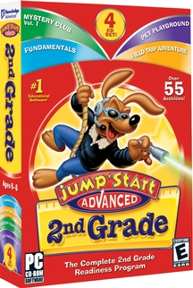 Image of JumpStart Advanced 2nd Grade.
