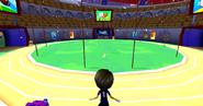 Js sports arena interior