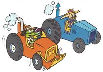 2sciwb molly cjed tractor race