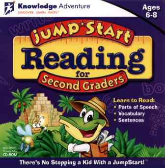 Image of JumpStart Reading for Second Graders.