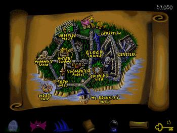 Image of Haunted Island.