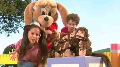 Four Little Monkeys (JumpStart Sing-Along Time)