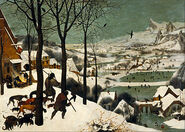 400px-Pieter Bruegel the Elder - Hunters in the Snow (Winter) - Google Art Project