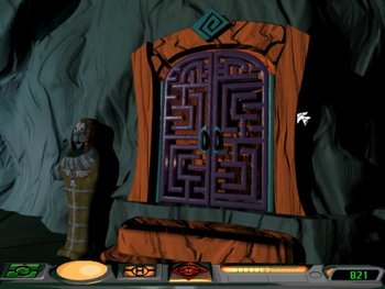 Image of Robot Maze.