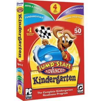 Image of JumpStart Advanced Kindergarten.