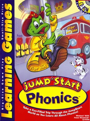 Image of JumpStart Learning Games Phonics.