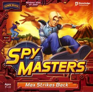Image of JumpStart Spy Masters: Max Strikes Back.