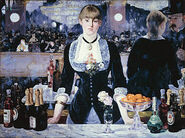 300px-Edouard Manet, A Bar at the Folies-Bergère