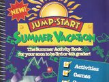 JumpStart Summer Vacation Activity Book for 3rd or 4th Grade