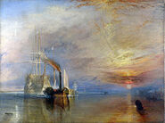 300px-Turner, J M W - The Fighting Téméraire tugged to her last Berth to be broken